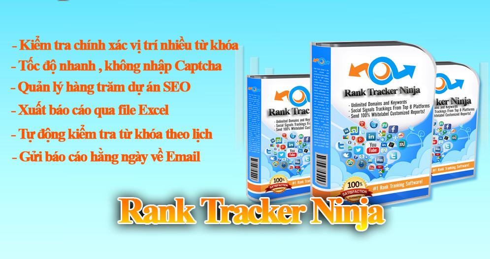 ranktrackerninja Phần mềm kiểm tra thứ hạng từ khóa Ninja Rank Check từ khóa google