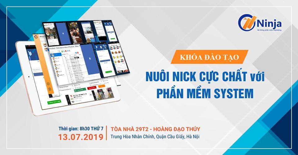 13.7 Tổng kết Offline khóa đào tạo nuôi nick mobile Ninja System