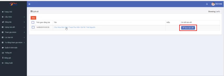 up top bai viet ninja auto post5 Uptop bài viết Facebook tự động bằng  Phần mềm Ninja Auto Post