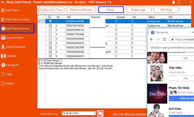 Screenshot 3 Hướng dẫn sử dụng Add Friend Chrome